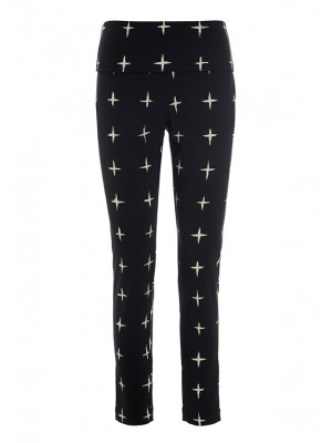 GRID STRETCH PANTS