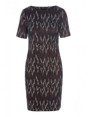 IKAT RAIN STRETCH DRESS