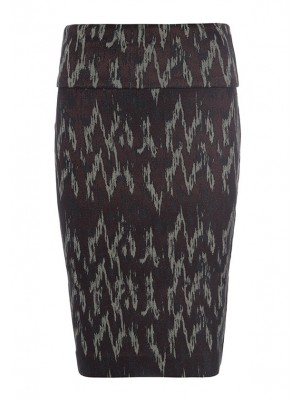 IKAT RAIN STRETCH SKIRT