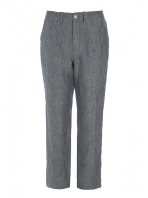 MINERAL LINEN NARROW PANTS