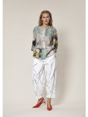 THE ARTIST LINEN BLOUSE