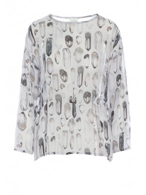 QUARTZ VISCOSE BLOUSE