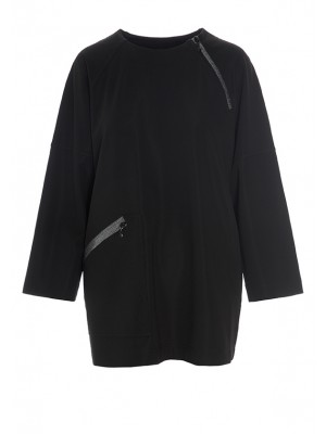 TECH SWEAT BLOUSE