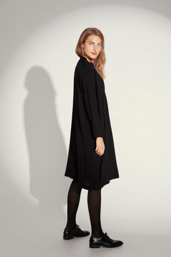 KUMOTTA CUPRO ZIP DRESS