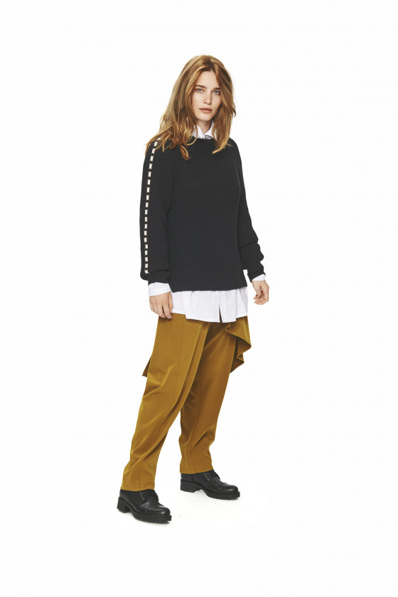 GAMINE KNIT BLOUSE